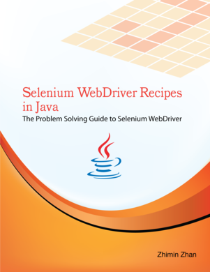 Selenium WebDriver Recipes in Java