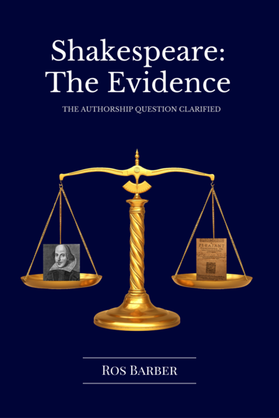 Shakespeare: The Evidence cover page