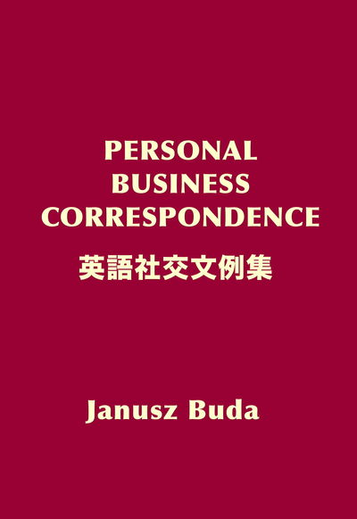Personal Business Correspondence