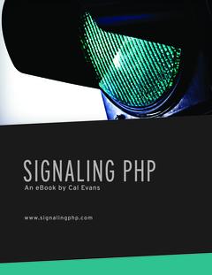 Signaling PHP