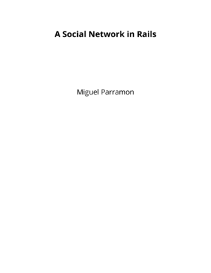 A Social Network in Rails