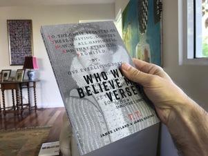 Who will believe my verse?