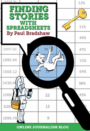 Finding stories in spreadsheets book cover