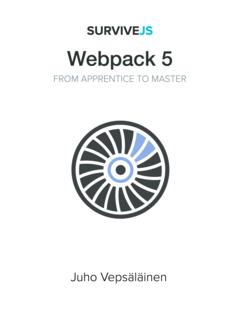 SurviveJS - Webpack