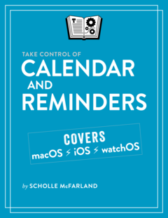 Take Control of Calendar and Reminders