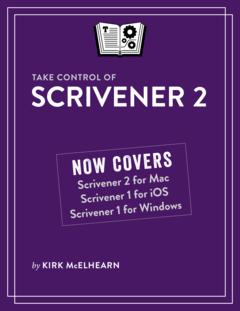 Take Control of Scrivener 2