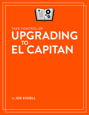 Take Control of Upgrading to El Capitan