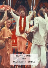 How to open and maintain a temple