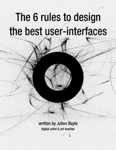 The 6 rules to design the best user interfaces cover page