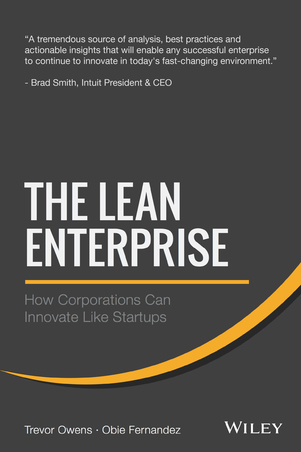 The Lean Enterprise cover page