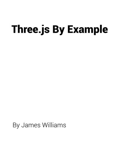 Three.js By Example