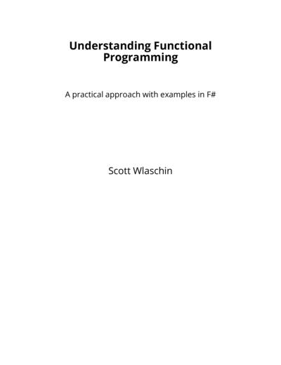 Understanding Functional Programming