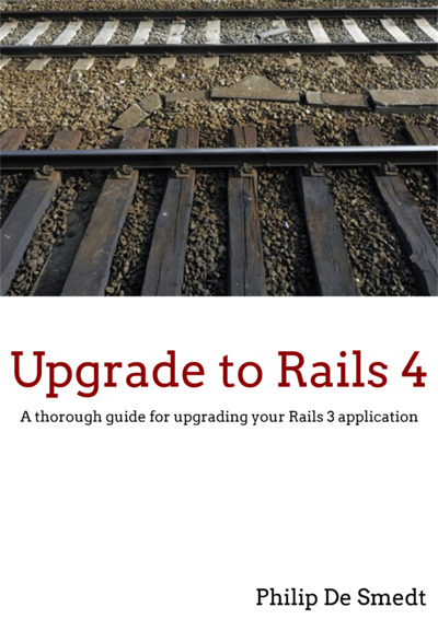 Upgrade to Rails 4 cover page