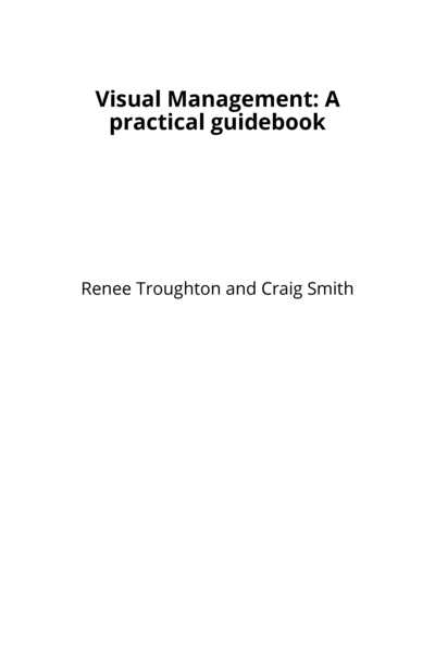 Visual Management: A practical guidebook