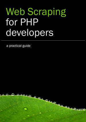 Web Scraping for PHP developers cover page