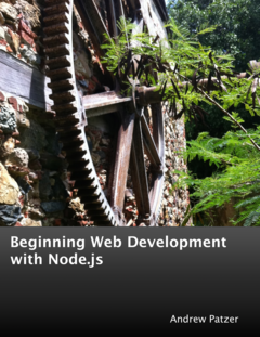 Beginning Web Development with Node.js cover page