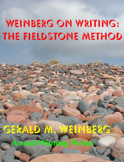 Weinberg on Writing