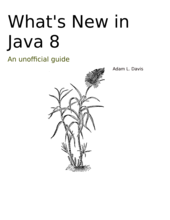 What's New in Java 8 cover page
