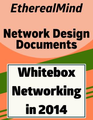 White Box Networking