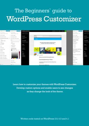 Beginners' guide to WordPress Customizer