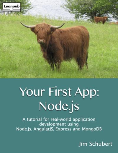 Your first app: node.js