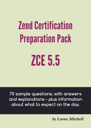 Zend Certification Preparation Pack