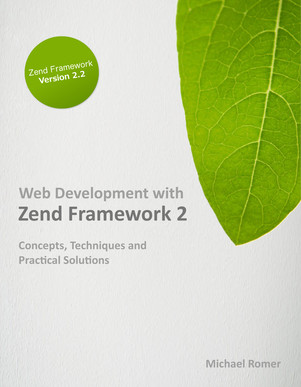 Web Development with Zend Framework 2 cover page