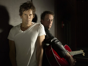 The bacon brothers close up