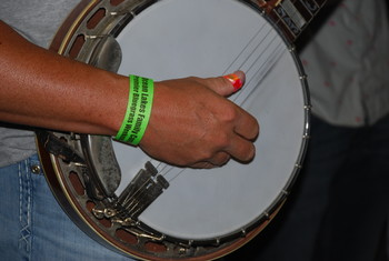 Banjo close bluegrass