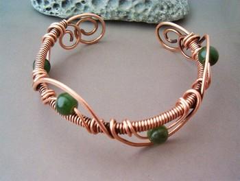 D7bbce5804c323bd299dcf5323db550e  wire wrap bracelets wire wrapped bracelet