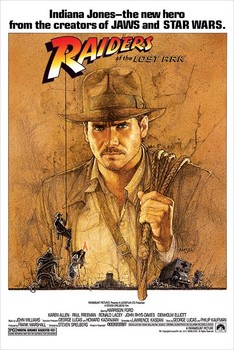 Pp31453 raiders of the lost ark poster