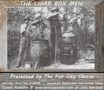 Fun city chorus cigar box man tix april 2018