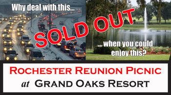 Rochester picnic thundertix image sold out