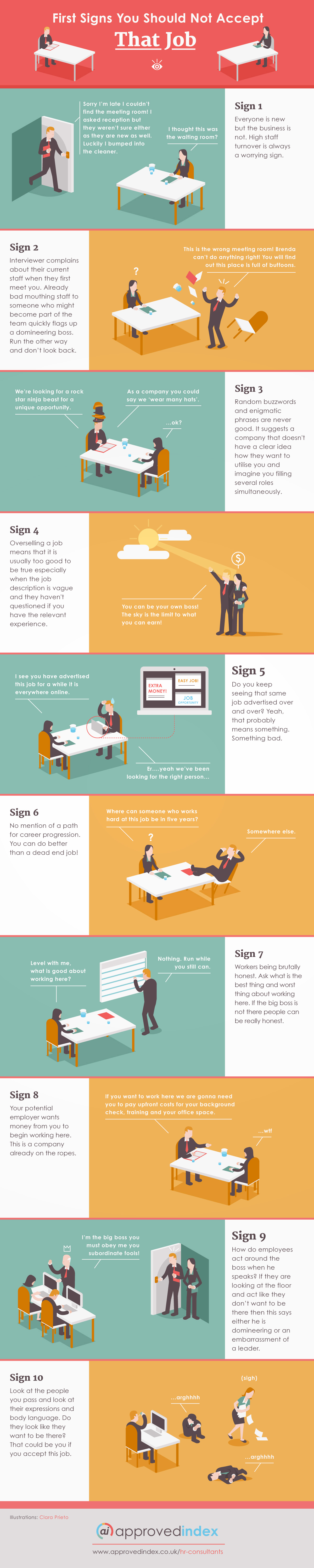 10 warning signs you should not accept that job infographic eynsatg