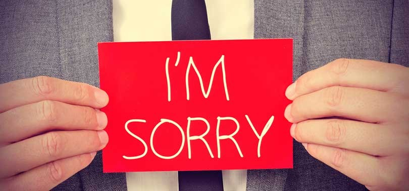 13 situations when you shouldnt say im sorry at work im sorry altavistaventures Choice Image