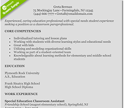teacher-resume-template