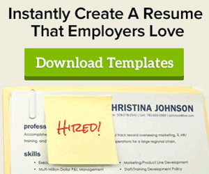 Resume Templates  What Does A Great Resume Look Like