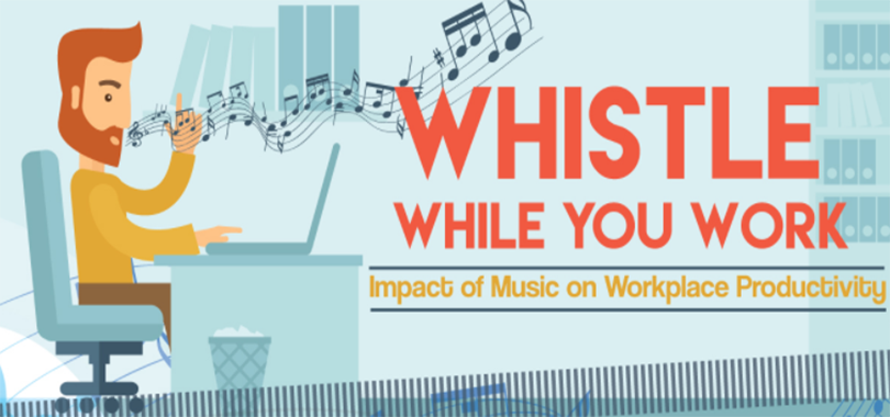 Listening To Music At Work Can Have A Positive Effect On