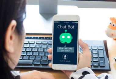 woman-in-job-interview-with-chat-bot