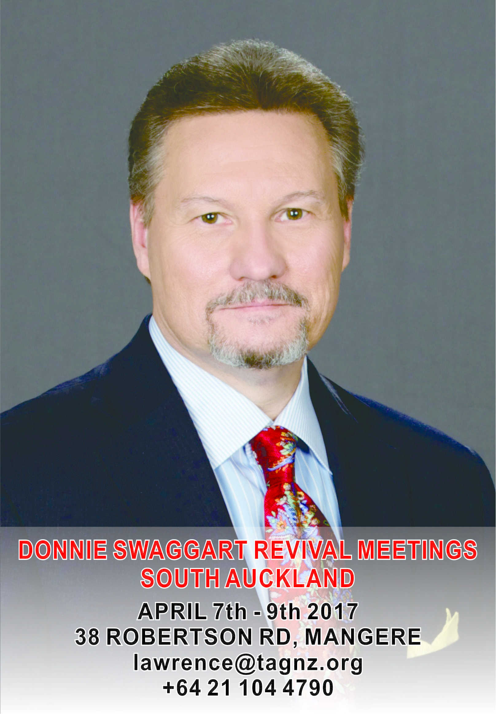 donnie swaggart revival meetings in south auckland