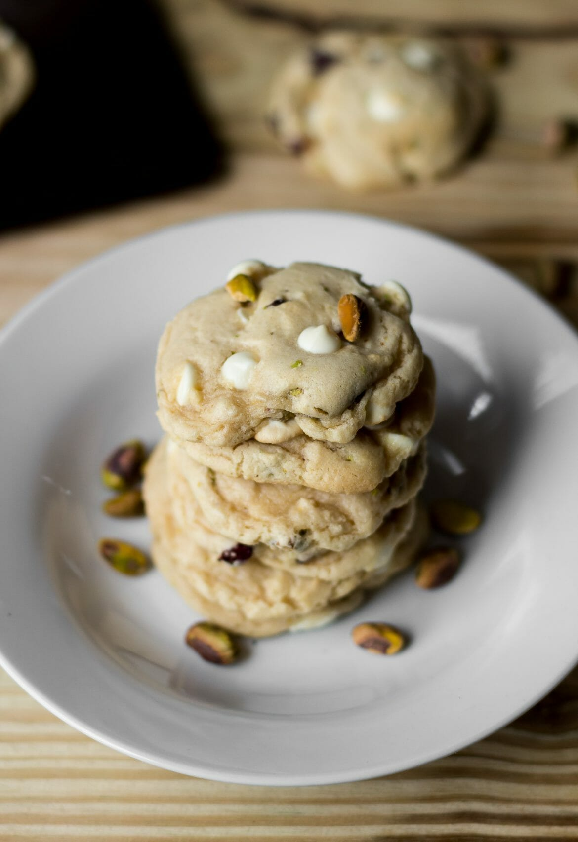 national pistachio day, cranberry white chocolate chip pistachio cookies, pistachio cookies, pistachio recipes