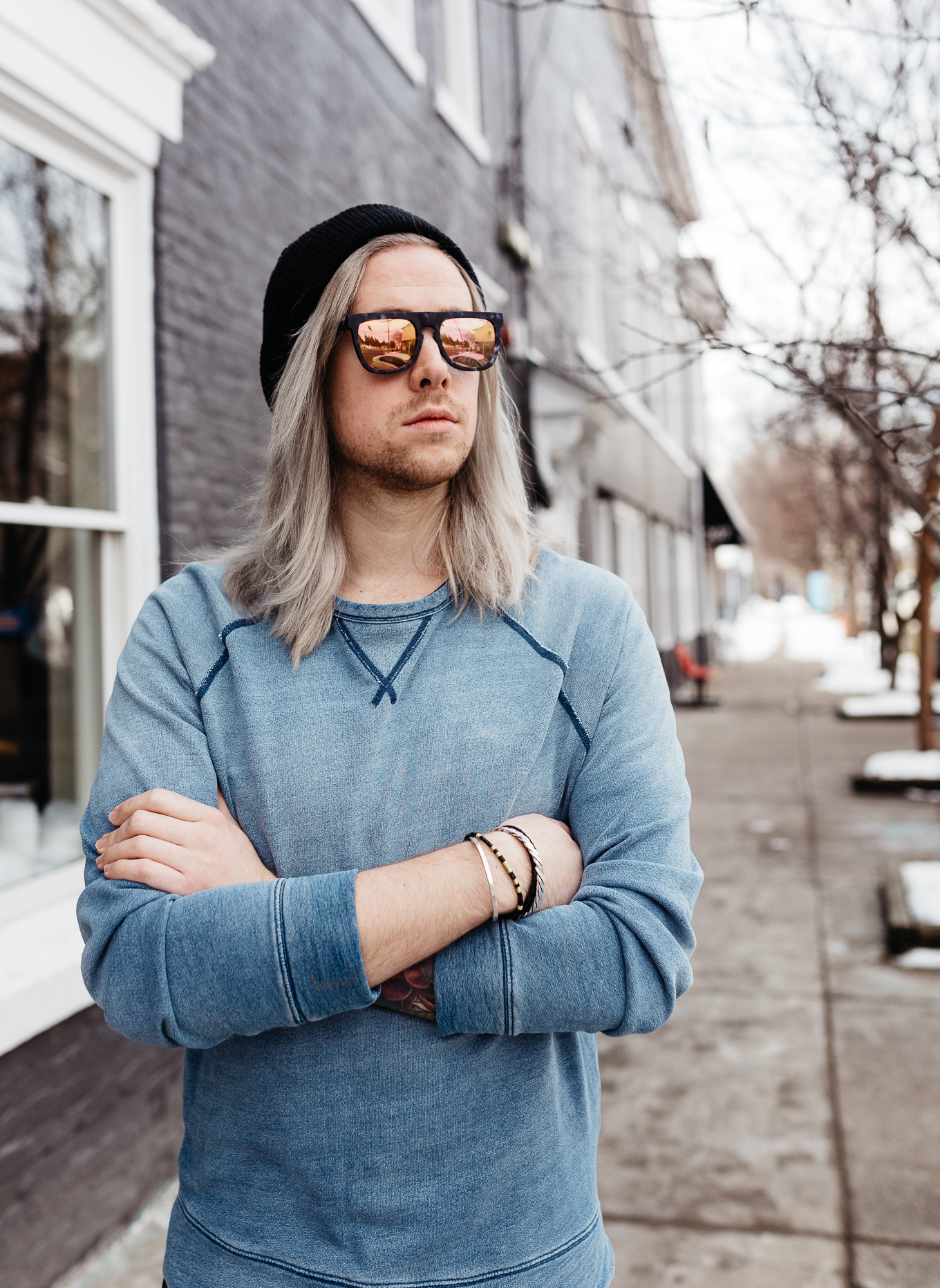 mens black beanie, mens life and style blogger, mens style blogger