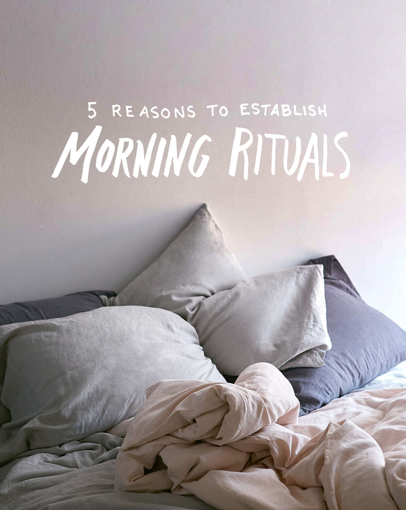 morning rituals, how to wake up early, how to start your day with purpose, what to do in the mornings, the fresh exchange