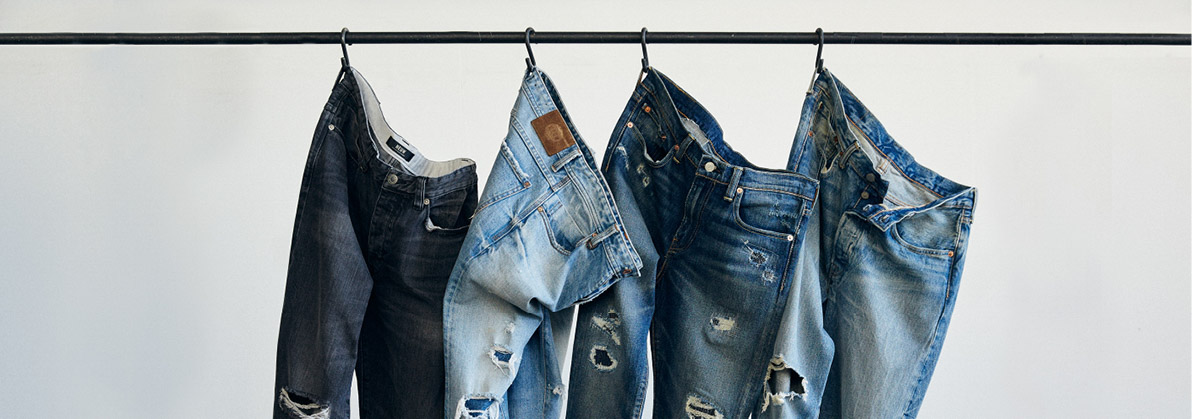 mens fall denim, what jeans to wear for fall, mens denim, how to wear denim in the fall, fall denim washes