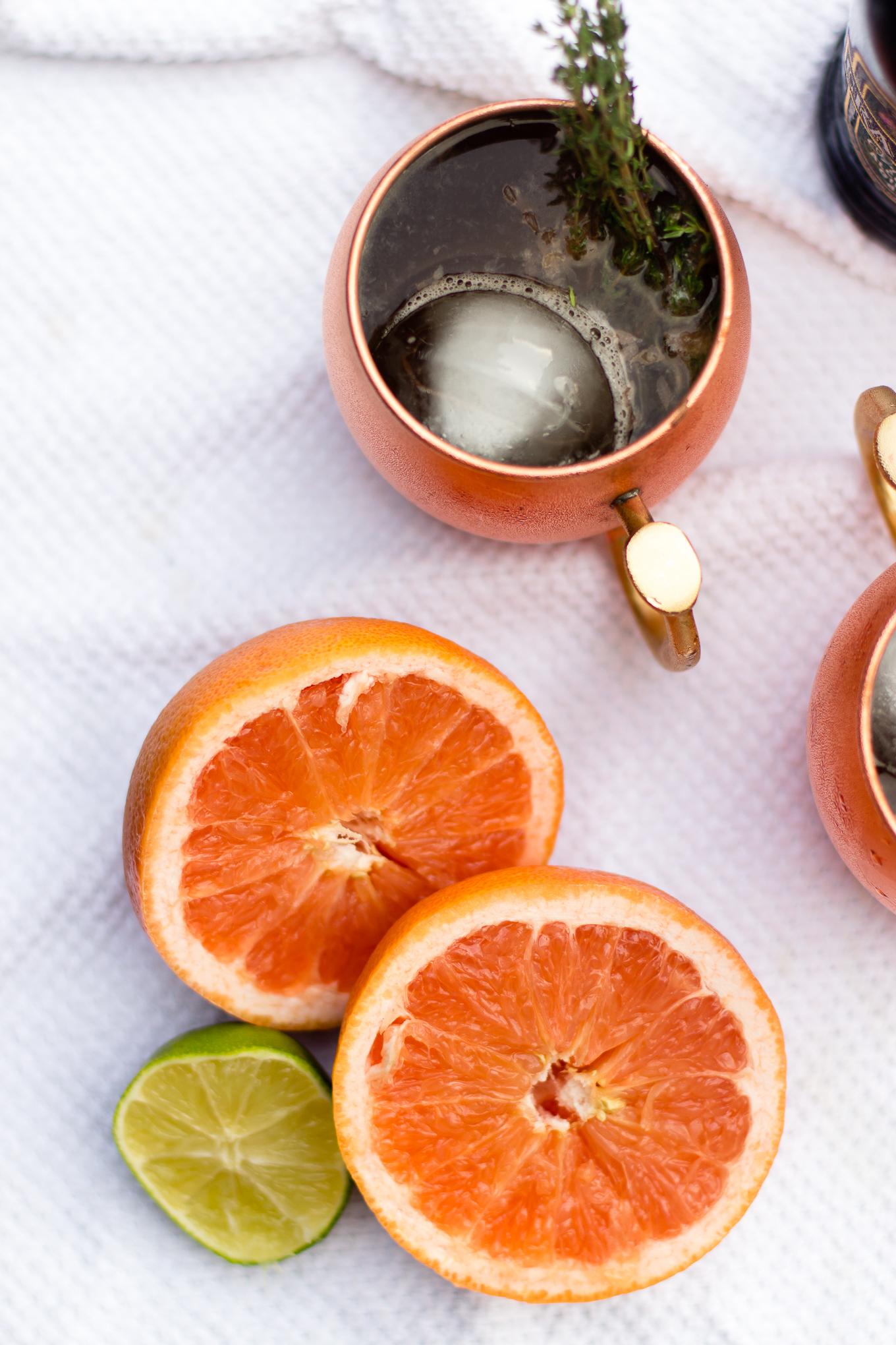 grapefruit vodka, vodka, craft cocktail, moscow mule, absolut