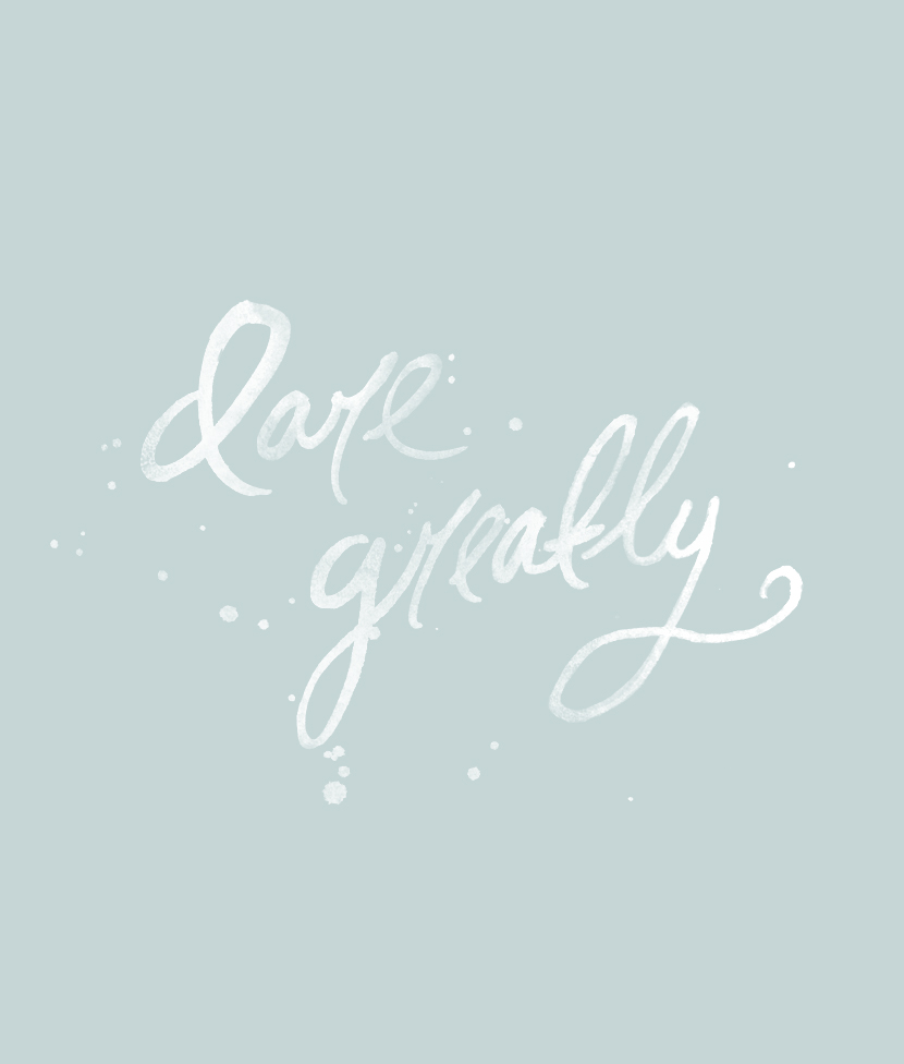 Thursday Things: Dare Greatly from The Fresh Exchange
