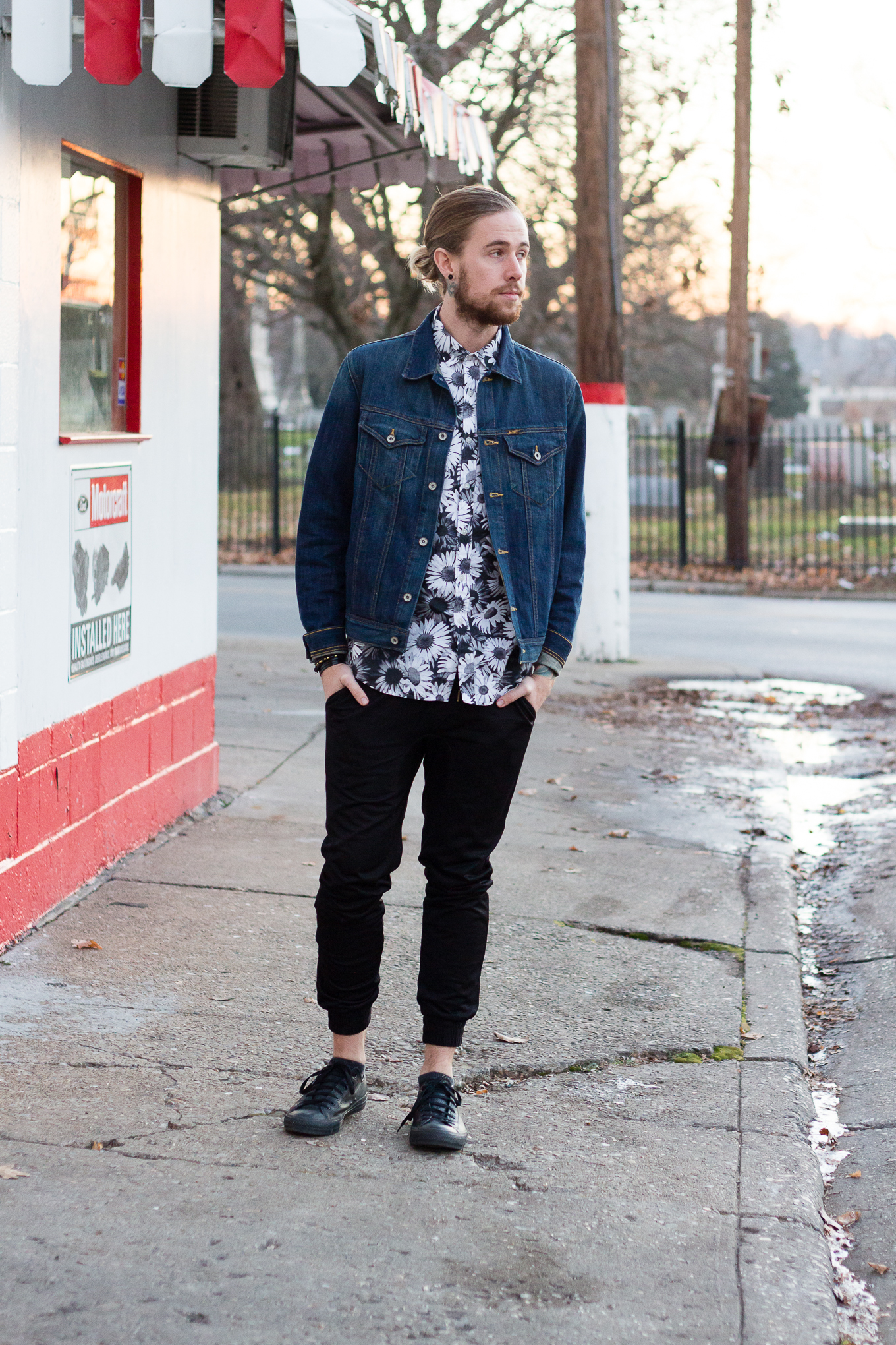 The Kentucky Gent, a Louisville, Kentucky based men's fashion and lifestyle blogger, shares his Woman Crush Wednesday while wearing Topman, Big Star, and Converse.