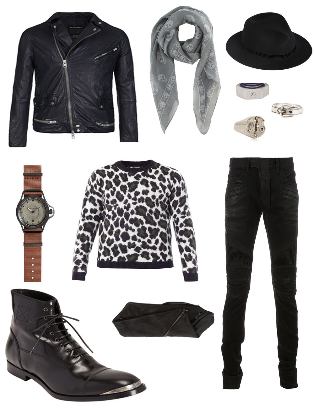The Kentucky Gent's Black Friday Wish List including Givenchy, Balmain, Alexander McQueen, and All Saints
