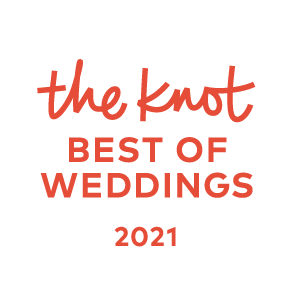 The Knot 2021 winner badge