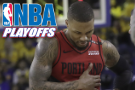 Lillard separated ribs in Game 2 against the Warriors